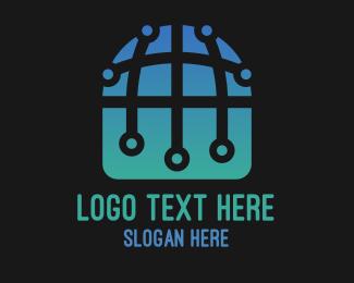 """International Tech World Globe"" by SimplePixelSL"