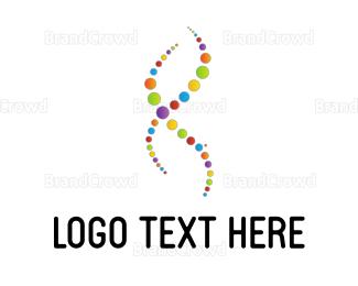 Protein - Colorful DNA logo design
