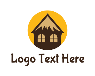 Cottage - Tropical Cottage logo design