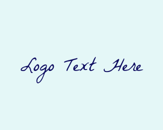 Handwriting - Romantic Handwriting logo design