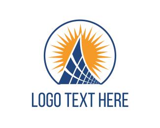 Solar Panel - Solar Panels logo design