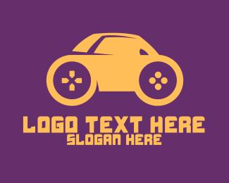 Egames - Mini Car Gaming logo design