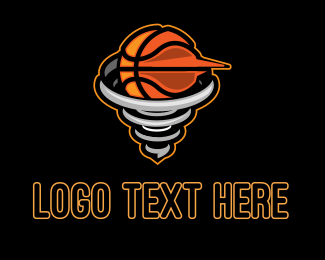 Whirlpool - Basketball Tornado logo design