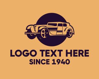 """Vintage Limousine Car"" by JimjemR"