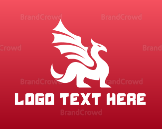 Reptile - Red Dragon Gaming logo design