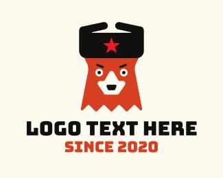 Twitch - Russian Bear Mascot logo design