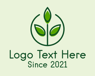 Seedling Farm Agriculture  Logo Maker