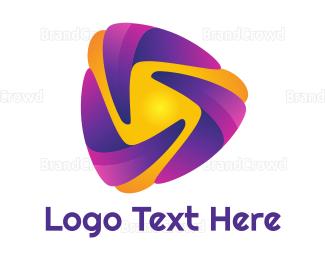 Dynamic - Dynamic Play Boomerang logo design