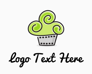 Cupcake - Cinema Cupcake logo design