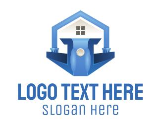 Politician - Blue Podium logo design