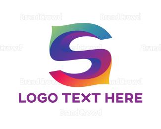 Fest - Colorful Letter S logo design