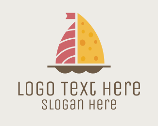 Savory - Charcuterie Boat logo design