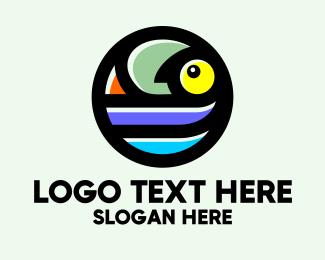 Change - Chameleon Pet Circle logo design