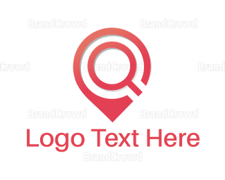 Search - Location Finder logo design