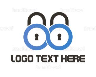 Firewall - Infinite Security logo design