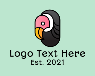 Icon - Mascot Vulture Icon logo design