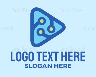 Technological - Youtube Tech Vlog logo design