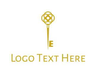Access - Elegant Key Symbol logo design