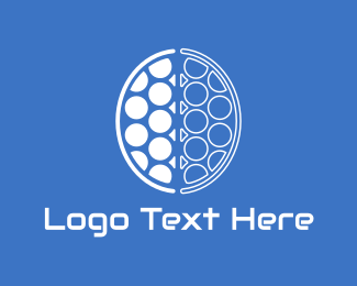 Learn - Brain Circles logo design