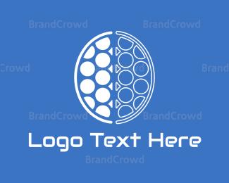 Smart - Brain Circles logo design