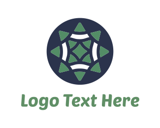 Cowboy - Green Star logo design