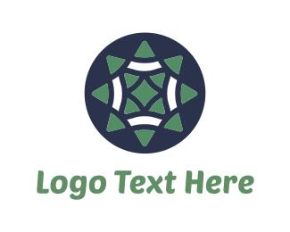 Mexican - Green Star logo design