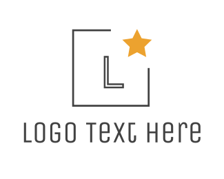 Champion - Minimalist Star  logo design