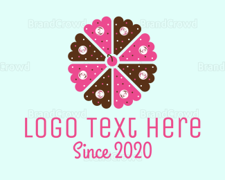 Bakeshop - Flower Cake logo design