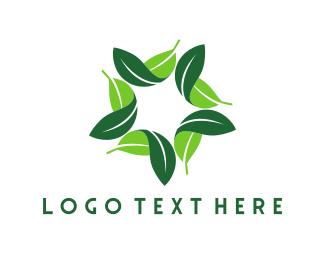 Leafy Star Logo