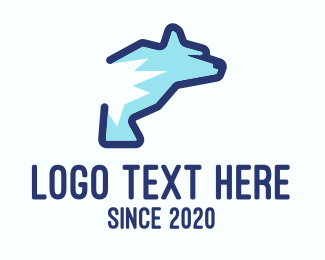 Arctic - Blue Polar Bear logo design
