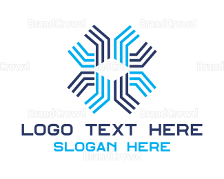 Data Processing - Abstract Technology logo design