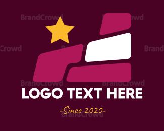 Brick - Star & Stones logo design