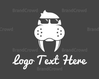 Creature - Seal Glasses logo design