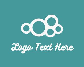 Cleaner - Bubble Cloud logo design