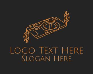 Image - Minimalist Organic Camera  logo design
