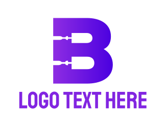 Repairman - Bold Repairman B logo design