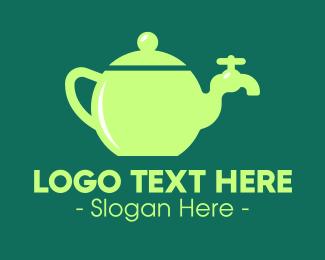 Tap - Teapot Tap logo design