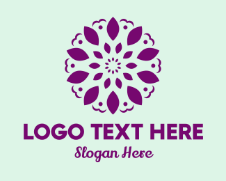 Event Styling - Floral Symbol Pattern logo design