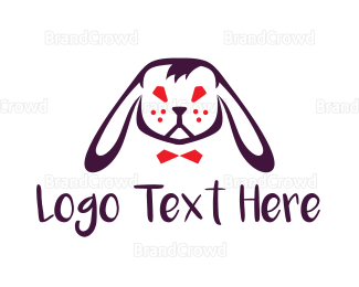Wildlife - Rabbit Head logo design