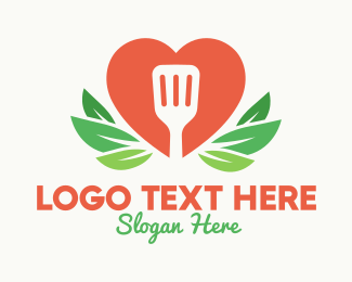 Nutrition - Spatula Heart Restaurant logo design