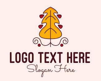 Seasonal - Autumn Forest logo design