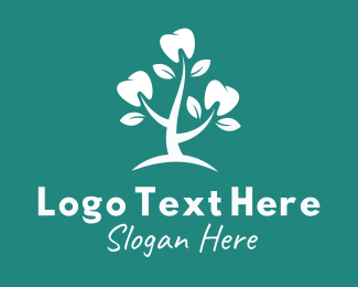 Dental - Dentist Tooth Plant logo design