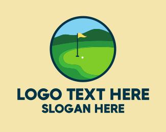 Golf Course - Golf Course Green logo design