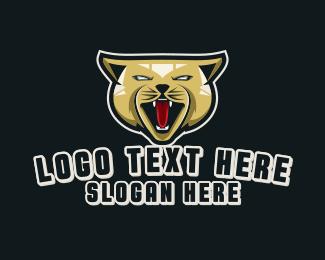 Angry Cat Gaming Logo Maker