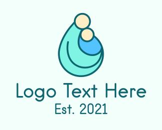Newborn - Maternity Clinic logo design