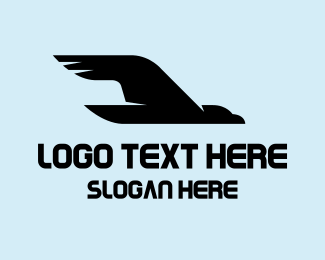 Osprey - Black Vulture logo design