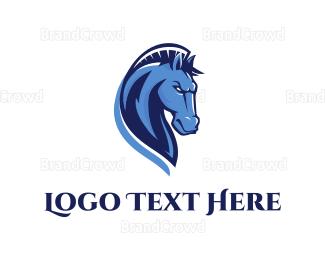 Wild - Wild Horse logo design