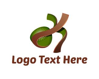 Peel - Kiwi Peel logo design