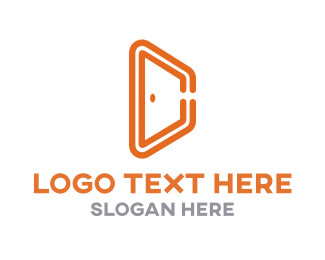 Door - Creative Door logo design
