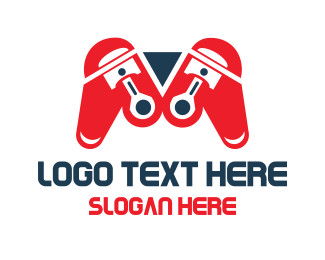 Racing - Automotive Game Controller logo design